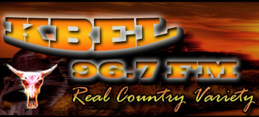KBEL 96.7 FM - KBEL-FM Logo
