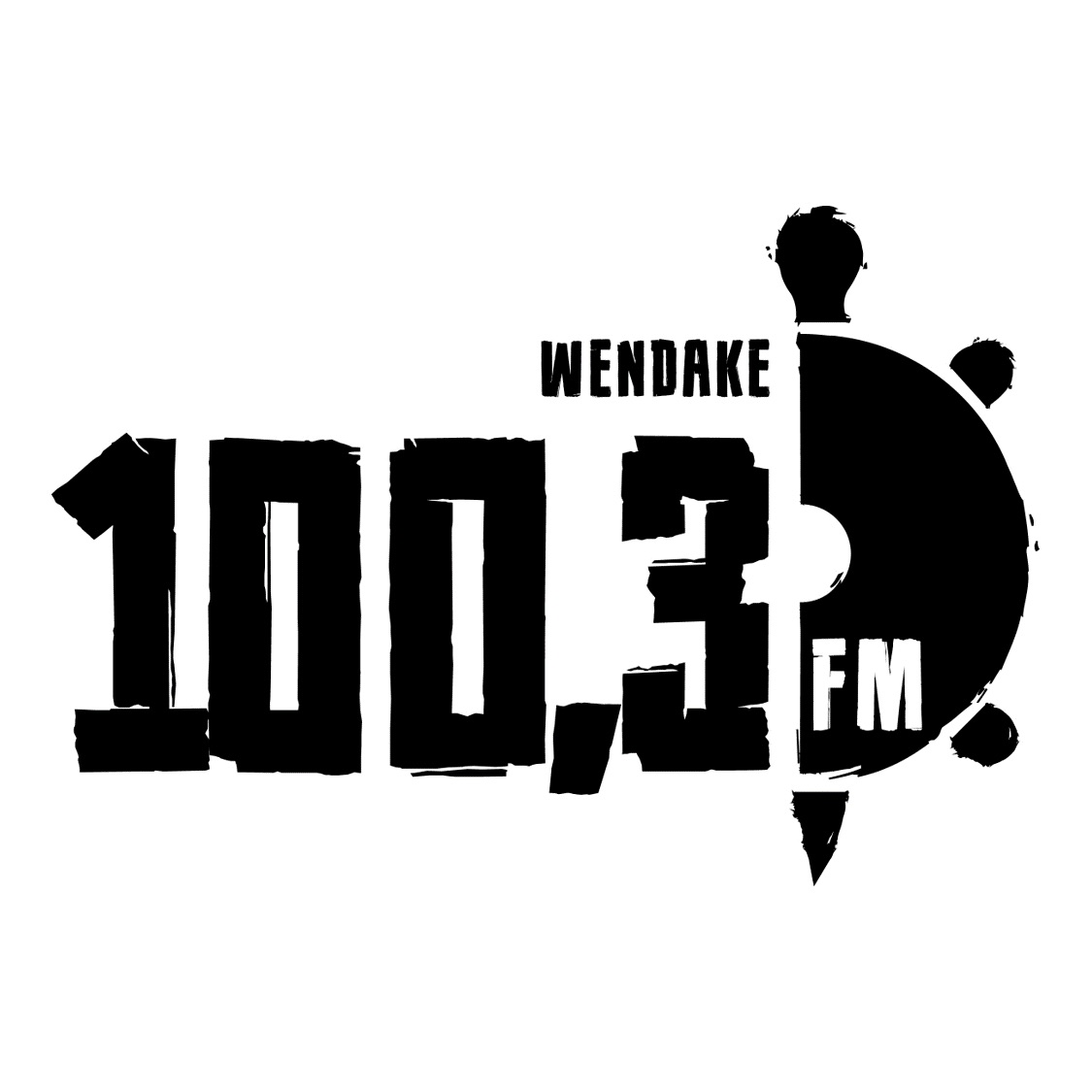 FM 100.3 - CIHW-FM - Wendake, QC Logo