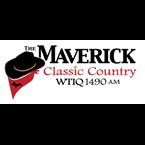 1490 The Maverick - WTIQ Logo
