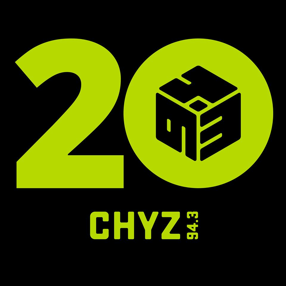 CHYZ-FM Logo