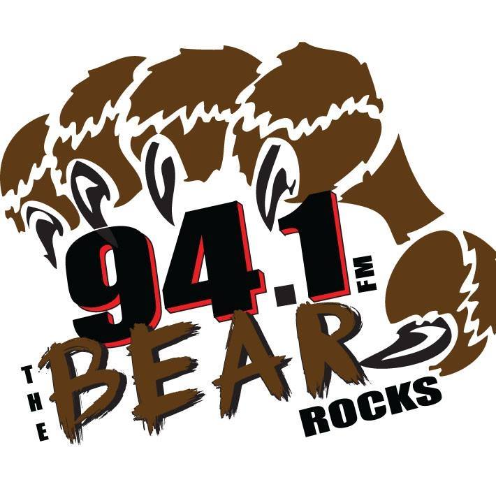 94.1 The Bear - KJRB Logo