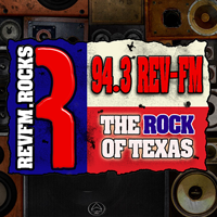 94.3 Rev FM - KRVL Logo