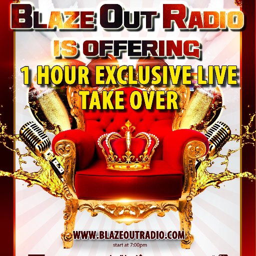 Blaze Out Radio Logo