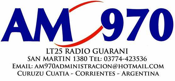 ▷ LT 25 Radio Guarani - AM 970 - Corrientes - Escuchar Radio en Vivo